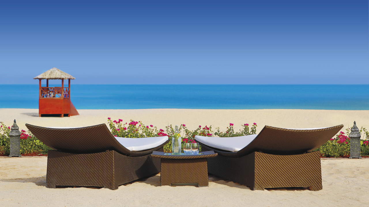 Ritz-Carlton Dubai beach