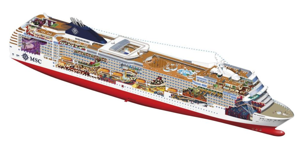 MSC_Magnifica__cross_section